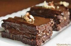 сыроедческий шоколадный торт