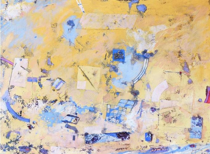 Robert Juniper | Landscape 1988 oil on canvas, 87 x 118 cm