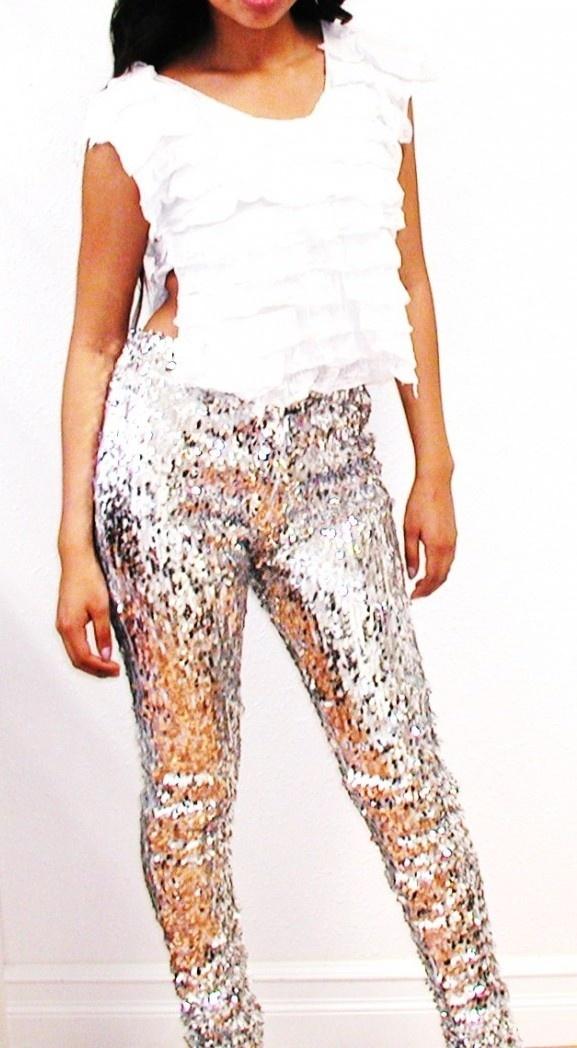 Plus Size Shine Me Up Silver Sequin Designer Pants, $109.00 (http://www.kamishade.com/haute-plus-size-dresses-more/plus-size-shine-me-up-silver-sequin-designer-pants/)