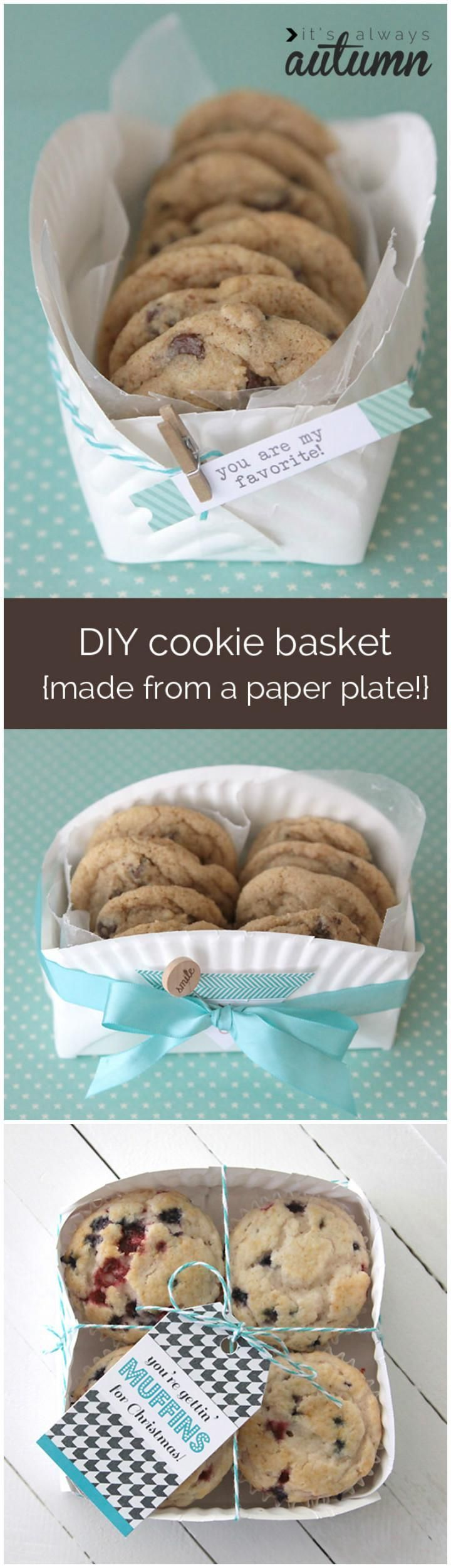 25 unique cookie gift baskets ideas on pinterest cool ideas 70 inexpensive diy gift basket ideas diy gifts page 10 of 14 cookie negle Choice Image