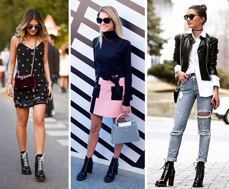 Vocês lembram que há uns bons anos a gente teve um boom de coturnos na moda? O calçado, que traz aquela ideia militar e de um estilo bem rocker, voltou, mas agora com salto e muito mais bonito do que a gente já conhecia! Adoro quando a gente pega algo tão característico de um estilo …