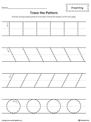 This is a photo of Universal Pre Writing Skills Worksheet
