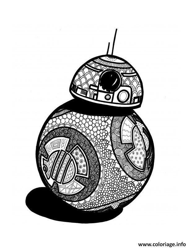 【Meilleur de】 Coloriage Mandala Star Wars