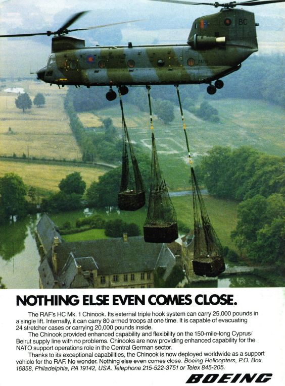 Aviation Magazine Adverts in the Eighties - Think Defence