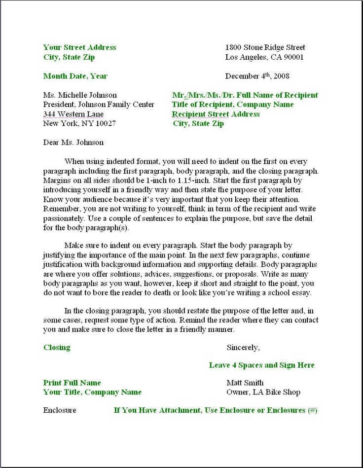 Best 25+ Business letter format example ideas on Pinterest - letter of recommendation templates