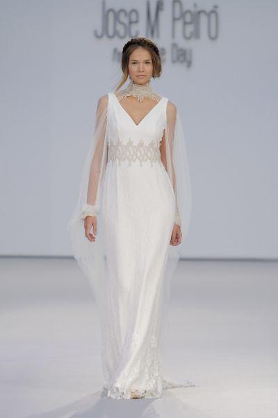 Vestidos de novia con escote en V 2017: exquisitos diseños que harán sacar tu lado más sensual Image: 20