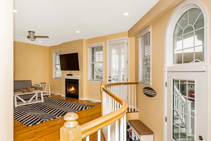Lovely LBI (Long Beach Island /Beach Haven) NJ beach rental, photographed by River Town Photography