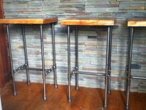 pipe bar stools