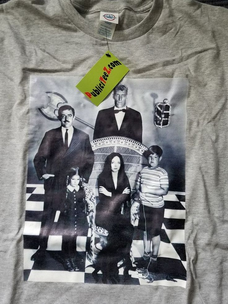 Addams Family TV Show 2XL NEW T shirt Lurch Gomez Morticia #PublicTeez #GraphicTee