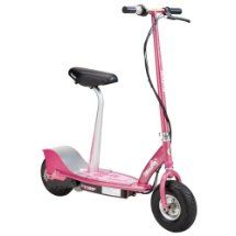 Razor E300S Seated Electric Scooter (Sweet Pea) - Browse our latest scooter accessories and scooter parts http://cheapscootermart.com/