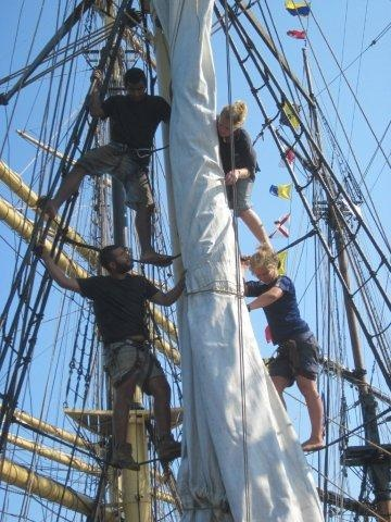 Picton Castle - Learning to sail a tall ship with the best Captain ever! #PictonCastle