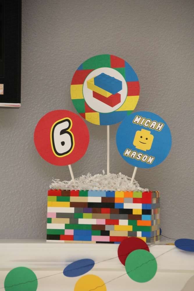 Best lego party ideas images on pinterest birthday