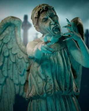 Weeping Angel, dont blink, blink and you're dead!