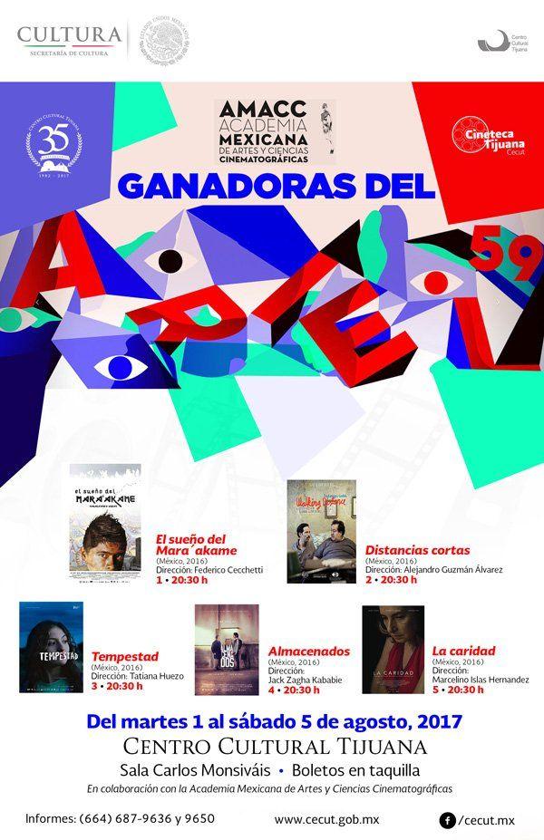 ¡Hoy miércoles 2 de agosto en la Sala Carlos Monsiváis del CECUT!