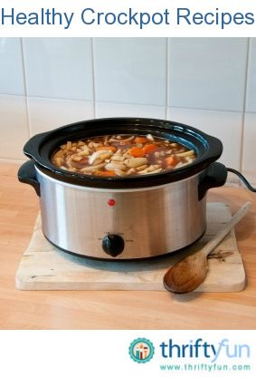 Weight Watchers Crockpot Chicken Casserole. This page contains healthy crockpot recipes. Use