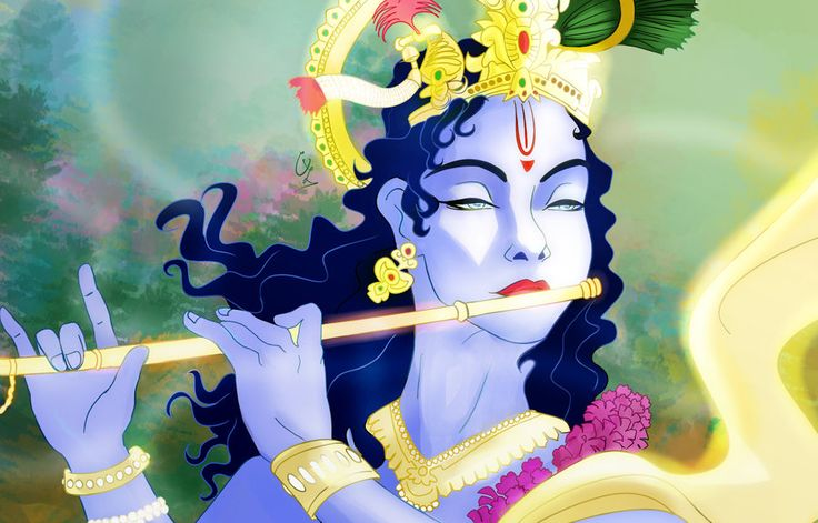 Krishna's flute by condemned2love