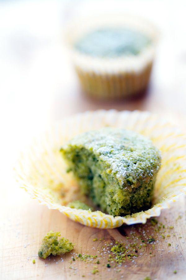 Gluten free pistachio financier recipe...these have CARDAMOM in 'em, I'm sold!