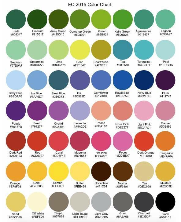 Erin Condren Color Hex Codes Google Search