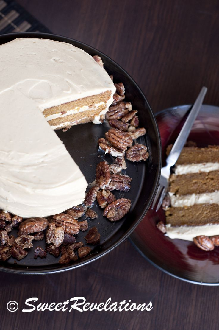 Brown Butter Pumpkin Layer Cake with Brown Sugar Cream Cheese Icing ...