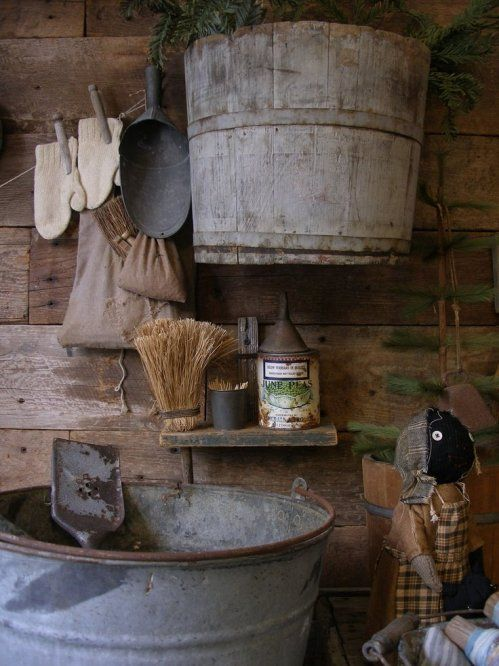rustic grouping