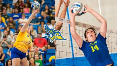 CSU Bakersfield volleyball players Kelsee Sawyer and Luiza Martins were selected first team All-Western Athletic Conference by a vote of the league's eight coaches.