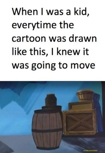 I'm glad they improved animation