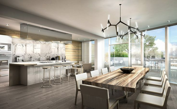 Dining Room and Demonstration Kitchen: Designed for entertaining family & Friends. Wine and dine with family and friends in style, while your caterer attends to your culinary whims and wishes.