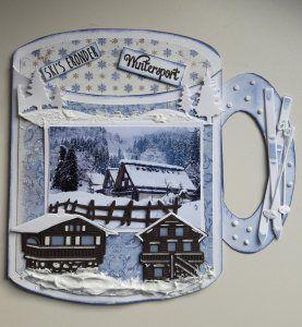 Ski's eronder/Wintersport