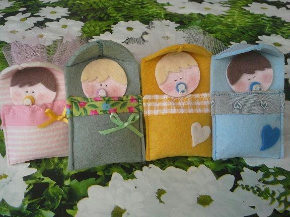 Bomboniera Portaconfetti culla con bebè – Tutorial e Cartamodello