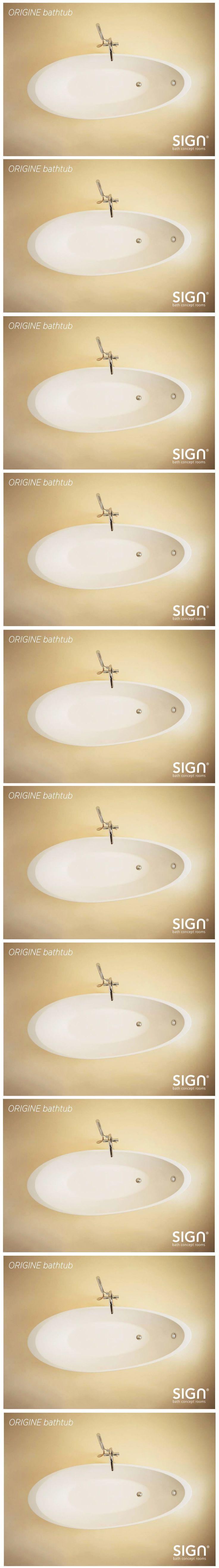 www.signweb.it ❤ #signconcept #bathroom #design ❤ ORIGINE #bathtub