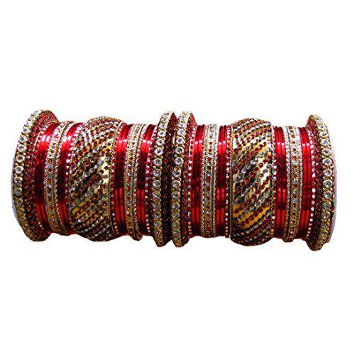 Shoppingover Set of Ethnic Indian Wedding Bangle Bracelet... http://www.amazon.com/dp/B01GMUJ2VY/ref=cm_sw_r_pi_dp_Lccvxb0MHHPAN