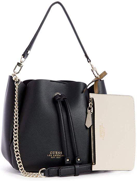 8154694278 Amazon.com: GUESS Ella Mini Bucket Bag: Clothing | bag's purses ...