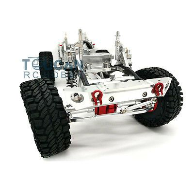Price - $325.00. Silver 1/10 AXIAL SCX10 D90 CNC Rock Crawler RC Car Model Aluminium Alloy Frame ( Brand - YY, Type - Car , MPN - Does not apply , Scale - 1/10, Fuel Type - Electric, Required Assembly - KIT , Bundle Listing - No, Model Grade - Hobby Grade, Color - Silver , UPC - Does not apply    )
