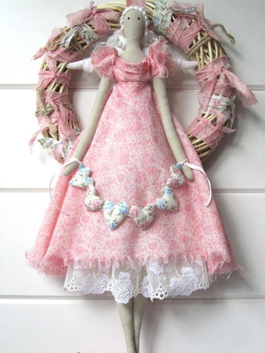 пэчворк и куклы от Munata - 9 Августа 2012 - Кукла Тильда.  Всё о Тильде, выкройки, мастер-классы.