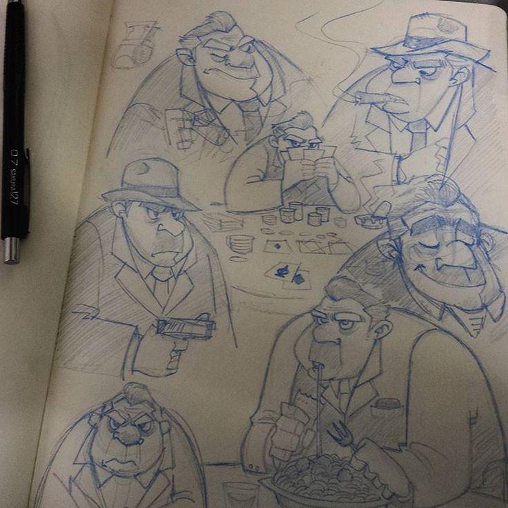 Gangster page #drawing #art #sketch #doodle #pencil #sketchbook #practice…