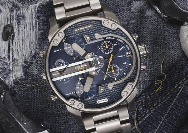 orologio in acciaio inox diesel signor papà 2.0 #orologidieselshop