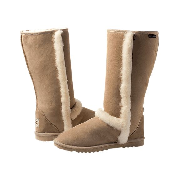 Arctic Tall Sand Boots, Australian Made Sheepskin, #aussie #australianmade #sheepskin #boots #tallboots #shoedreams #comfy #cute #warm #indoors #home #outdoors #shoesaholic #sand #brown #natural #sandboots #brownboots #styling #fashion #outfit #fashioninspiration