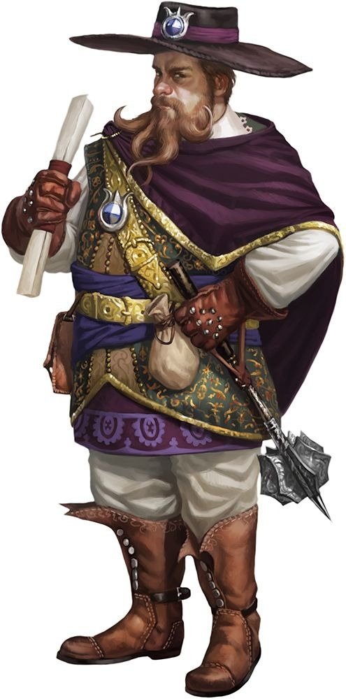 Image result for D&D merchant disguise