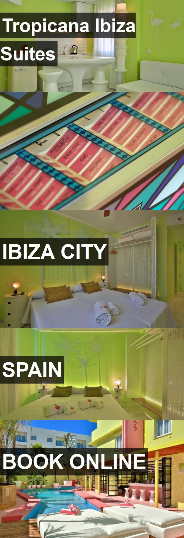 Hotel Tropicana Ibiza Suites in Ibiza City, Spain. For more information, photos, reviews and best prices please follow the link. #Spain #IbizaCity #TropicanaIbizaSuites #hotel #travel #vacation
