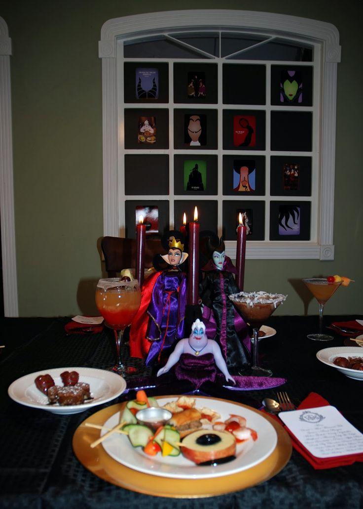 Disney Side Villains Food Disneyside Disney Halloween