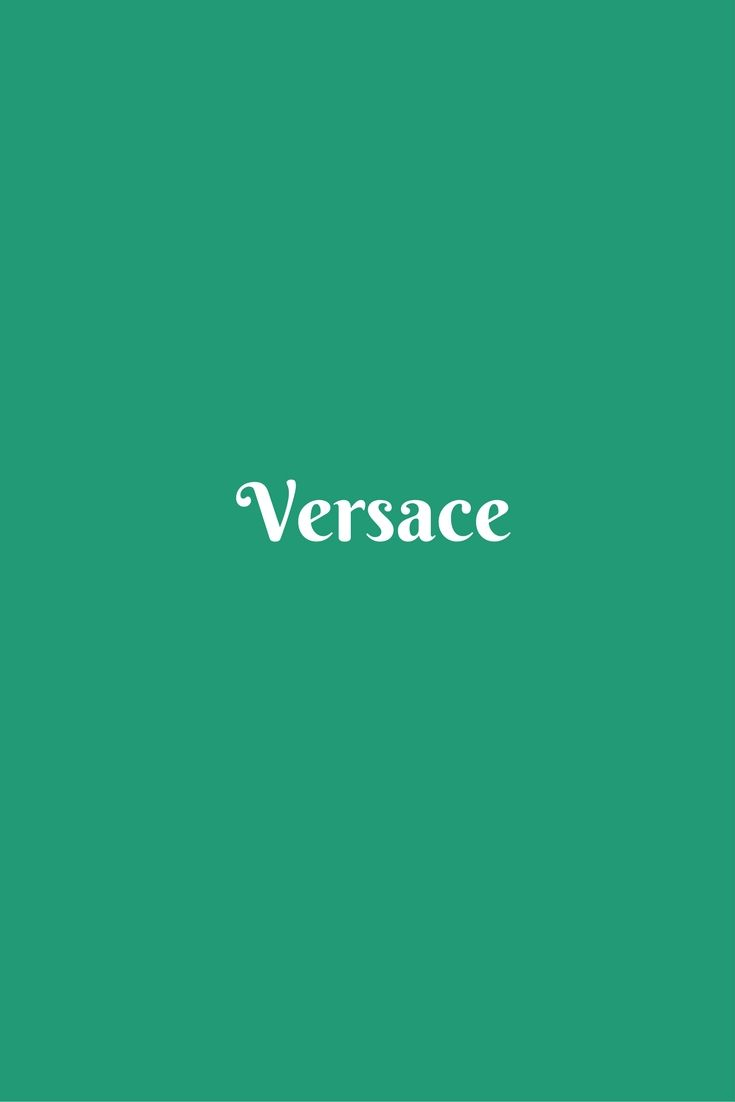 Versace Brand Only