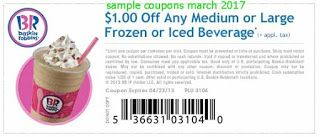 free Baskin Robbins coupons for march 2017