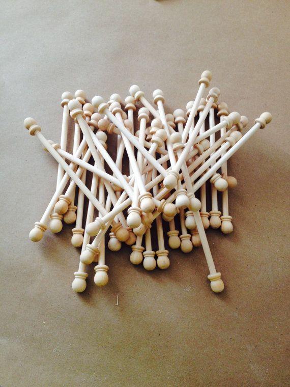 24 DIY Scroll Invitation Rods by KarlasGift on Etsy