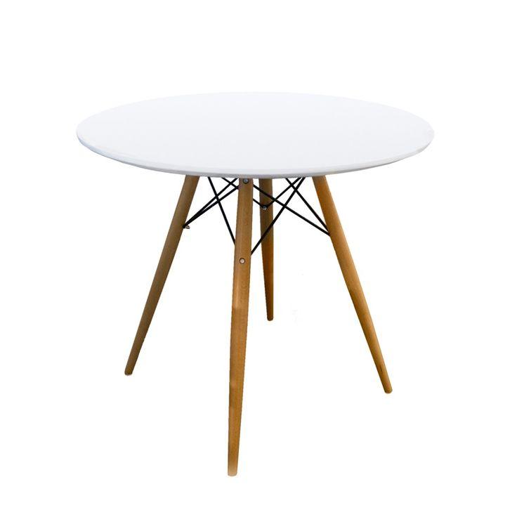Las 25 mejores ideas sobre mesas redondas de madera en for Mesas de diseno industrial