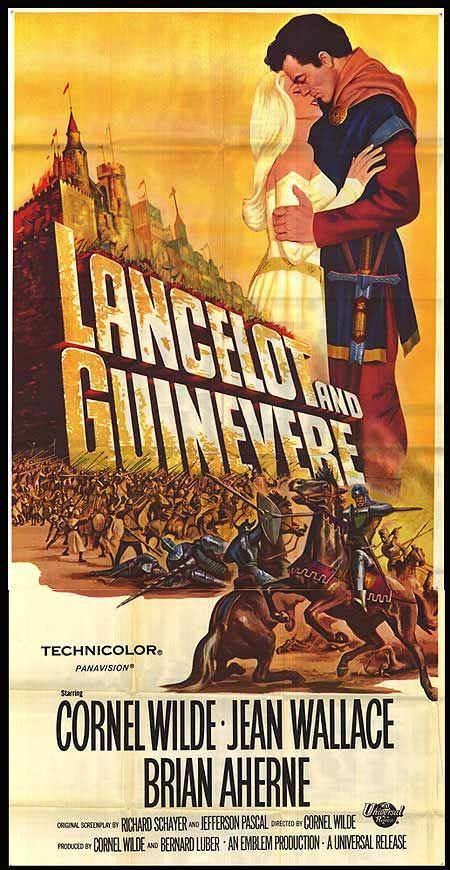 "Sword of Lancelot (1963) ""Lancelot and Guinevere"" (original title) Stars: Cornel Wilde, Jean Wallace, Brian Aherne, George Baker, Adrienne Corri, Richard Thorp  ~  Director: Cornel Wilde"