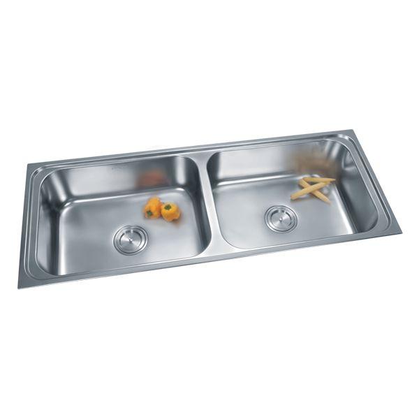 Buy Double Sink 325 in Sinks through online at NirmanKart.com