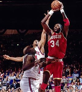 One of the best ever, Hakeem Olajuwon