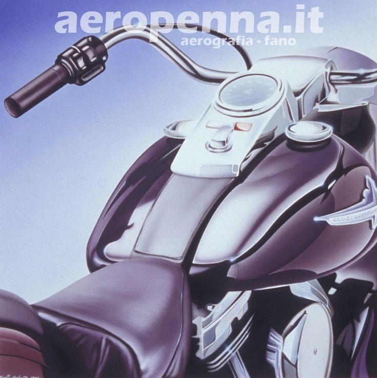 Airbrush illustration, illustrazione ad aerografo, cm.60x60