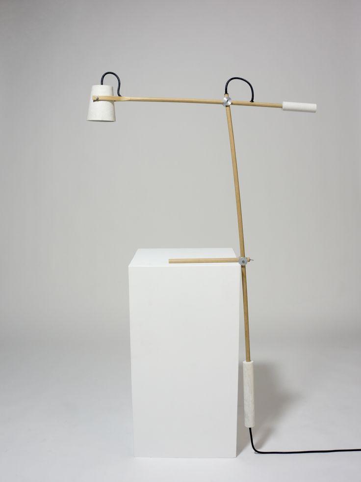 Counterbalanced Lamp by Callum Carbon