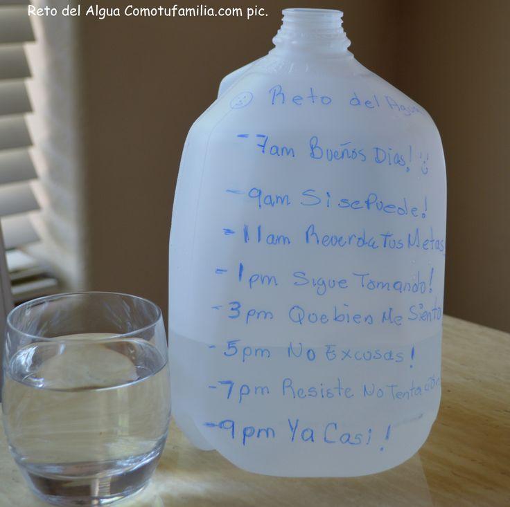 Reto del glalon de agua